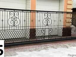 Ограждение балконов в Харькове. Перила, решетки.