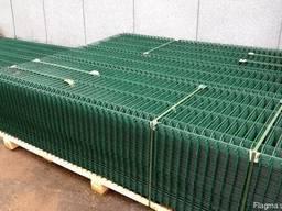 Ограждение ДУОС 200х50 (RAL 6005) ф 6/5 мм 1, 83х2, 5м