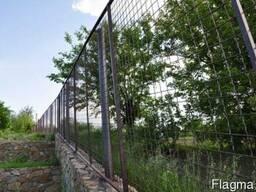 """Ограждение из сетки калинированой.""""Броневик"""" Днепропетровск."""