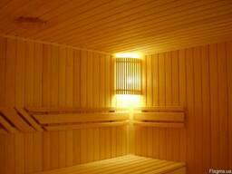 """Ограждение светильника для сауны или бани. Модель """"КИЕВ"""""""