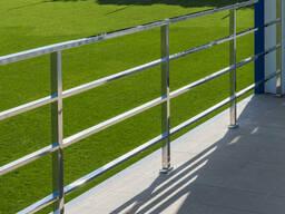 Ограждения балкона террассы из нержавеющей стали