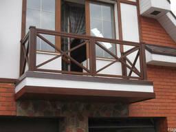 Балкон Ограждение/Перила Металлокаркас Балкона - фото 2