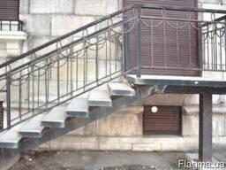 Ограждения балконов металлические лестничные ограждения