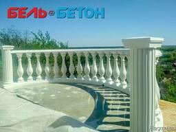 Ограждения балконов, террас, входных групп.