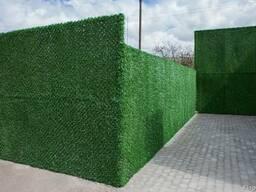 Ограждения декоративные зеленый забор