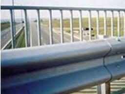Ограждения дорожные металлические барьерного типа