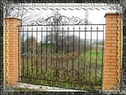 Ограждения металлические и кованые Киев -оградки на кладбище