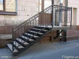 Лестницы металлические винтовые и маршевые изготовление !!!