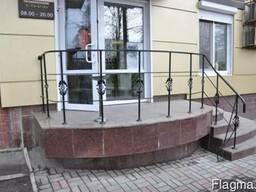 """Ограждения на балконы, крыльцо, участок. """"Броневик"""" Днепр."""