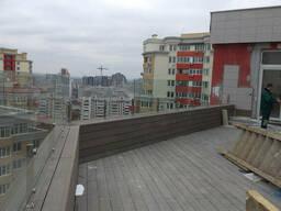 Ограждения перилами балконов со стеклом и нержавейкой Крым