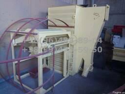Охладитель гранулы с просеивателем. Охладительная колонна
