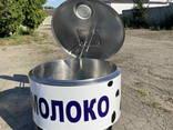 Охладитель молока 200 л открытого типа - фото 3
