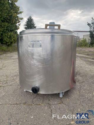 Охладитель молока 250 л открытого типа