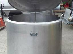 Охладитель молока Б/У ALFA LAVAL 800 открытого типа объёмом