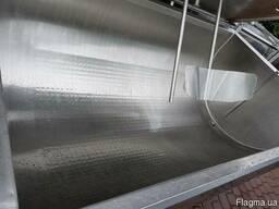Охладитель молока Б/У Packo 1500 ванна объёмом 1500 литров h