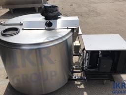 Охладитель молока DeLaval 800 литров открытого типа