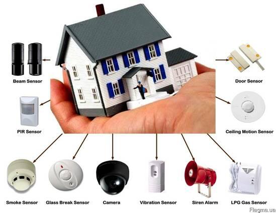 Охранная сигнализация, видеонаблюдение- Запорожье