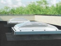 Окна для плоских крыш D_С с куполом