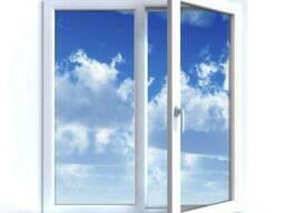 Окна металлопластиковые Rehau E60 3-х камерный 1, 30х1, 40