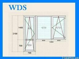 Окна WDS Балконные