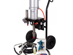 Окрасочный агрегат с пневмоприводом 45:1 аналог Graco Merkur