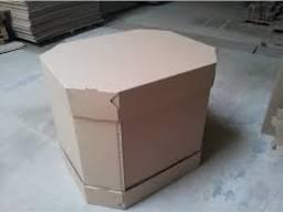 Ящик под арбуз. Картонный ящик под арбуз