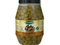 Оливки без косточек Kalimera / Калимера, оливки Греция 3,3л