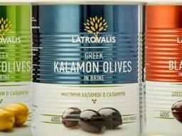 Оливки и маслины с Греции 0. 85 л
