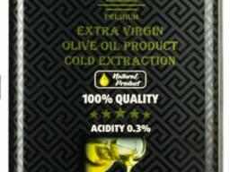 Оливковое масло Extra Virgin Olive OIL Olimp Black Label 5 л. TM «Olimp» Black Label