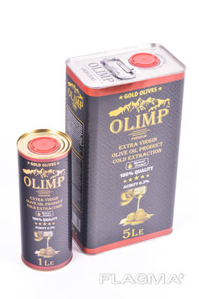Оливковое масло Олимп Блек Лейбл 1 литр
