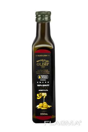 Оливковое масло Олимп Блек Лейбл 250 мл.