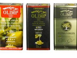 Оливковое масло Олимп Блек Лейбл 5 литров - фото 7