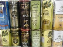 Оливковое масло в ассортименте. 1л. 3л. 5л