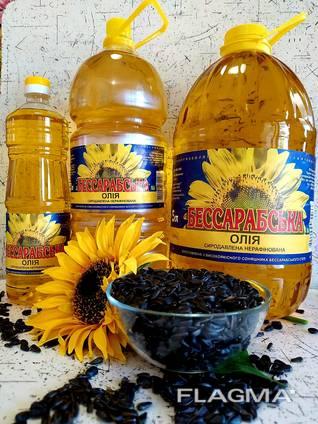 Олія соняшникова нерафінована сиродавлена