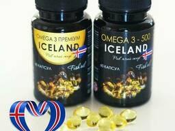 Омега 3 - 500 Рыбий жир, капсулы по 500 мг №60