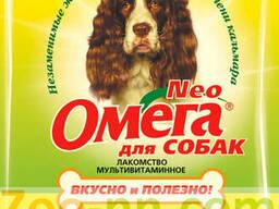 Омега Neo лакомство витаминизированное для собак, с морскими