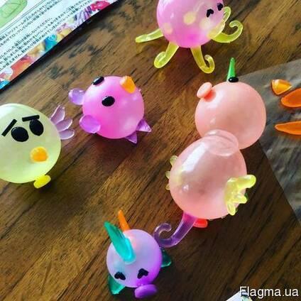 Необычный конструктор из надувных шариков Oonies для ребенка