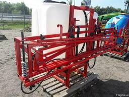 Тракторный навесной опрыскиватель ОНШ 600 л штанга 14м