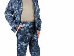 Описание Костюм состоит из куртки и брюк