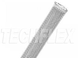 Оплетка для кабеля 6. 35 мм, белая