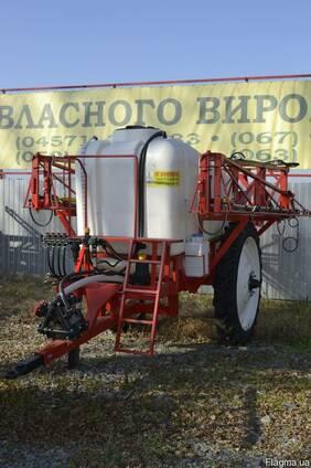Обприскувач причіпний 2500 л /18 м R42 Компенсація 25 %