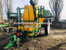 Опрыскиватель прицепной ОСШ-2000/18 с баком для промывки сис