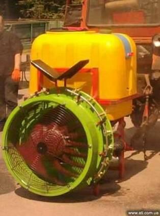 Вентиляторный опрыскиватель TL-400