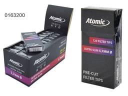 Опт фильтры 5. 7 мм ультра слим угольные Atomic