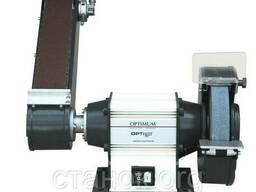 OPTIgrind GU 25 S Шлифовальный станок по металлу Optimum ленточно-дисковый
