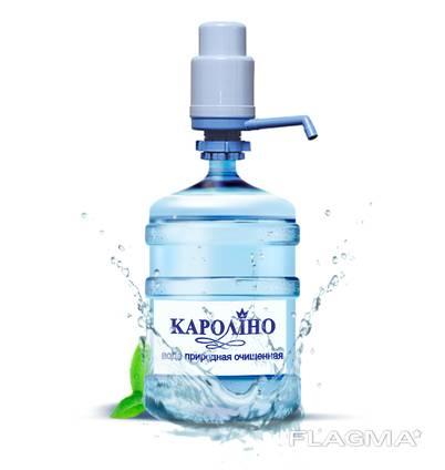 """Оптом артезианская питьевая вода """"Каролино"""""""
