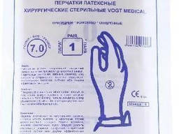 Перчатки хирургические Ultra Easy латексные стерильные непри