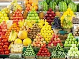 Оптовая торговля фруктами, овощами, ягодой, зеленью