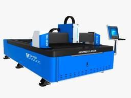 Оптоволоконный лазерный станок SENFENG SF3015G 1,5kW. Лазерного раскроя
