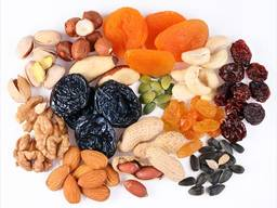 Орехи, сухофрукты, цукаты оптом